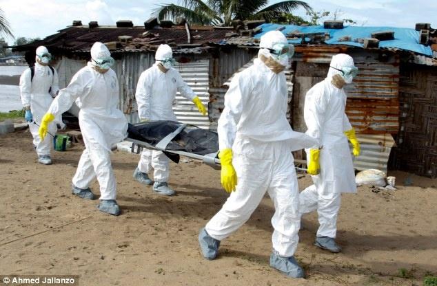 Lo hoa thieu benh nhan Ebola o Liberia hinh anh