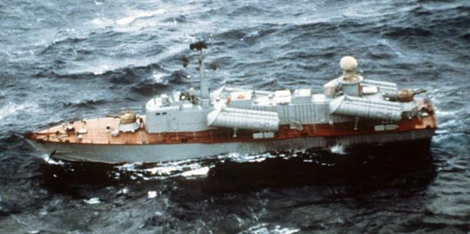 Kho tau chien cu ky cua Trieu Tien hinh anh 4 Tàu tên lửa tấn công nhanh lớp Osa do Liên Xô sản xuất.