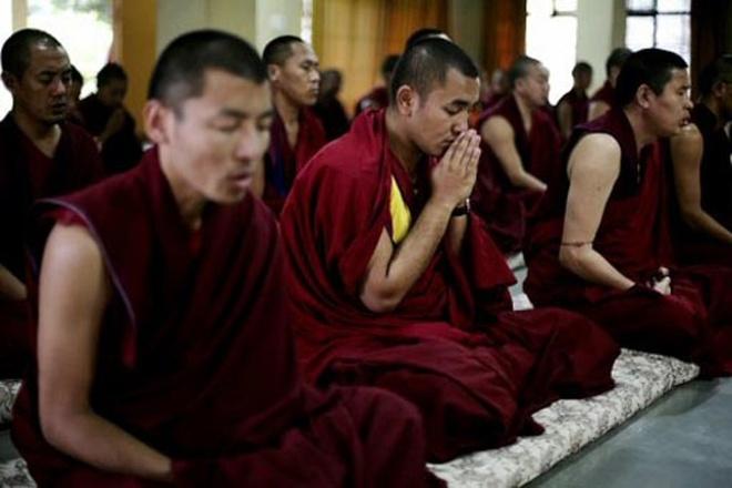 10 kha nang ky la cua con nguoi (ky 2) hinh anh 2 Thiền định giúp các nhà sư Tây Tạng tiết kiệm năng lượng. Ảnh: The Jakarta Post