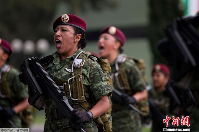 Nữ quân nhân Mexico