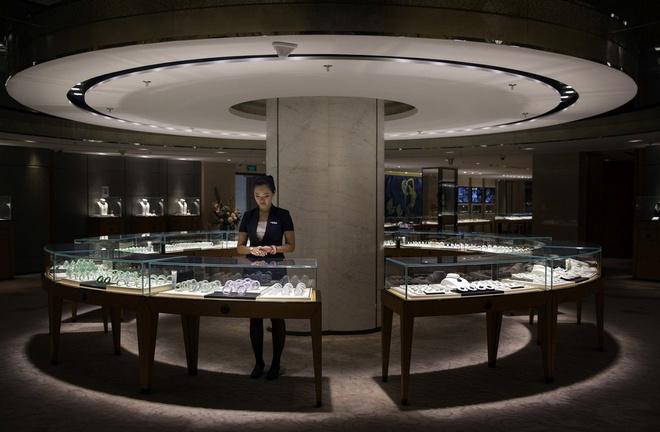 Ket cuc bi tham cua nhung nguoi san tim ngoc thach hinh anh 10 Một cửa hàng chuyên bán đá quý từ Myanmar tại thành phố Bắc Kinh, Trung Quốc.