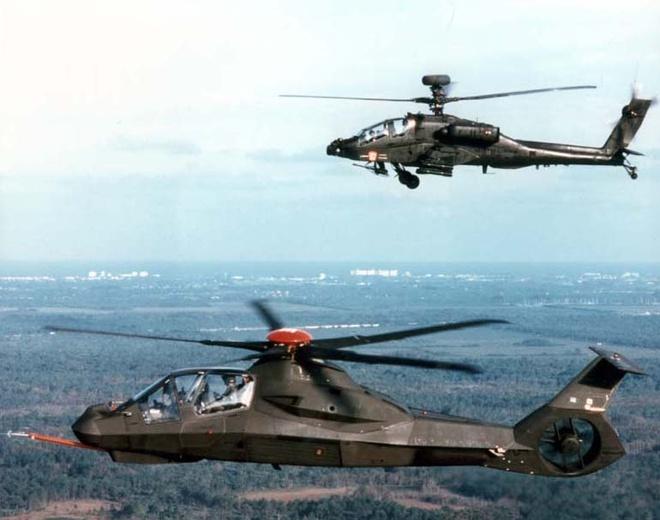 Quân đội Mỹ dự định sẽ kết hợp RAH-66 và AH-64D tạo nên