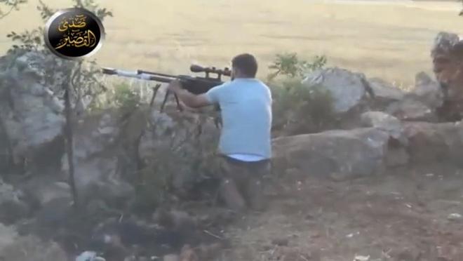 Phien quan Syria na dan bang sung ban tia M99 hinh anh