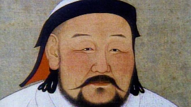 Truy tim cu to bi an cua 830 trieu dan ong chau A hinh anh 1 Một bức họa chân dung Thành Cát Tư Hãn. Ảnh: