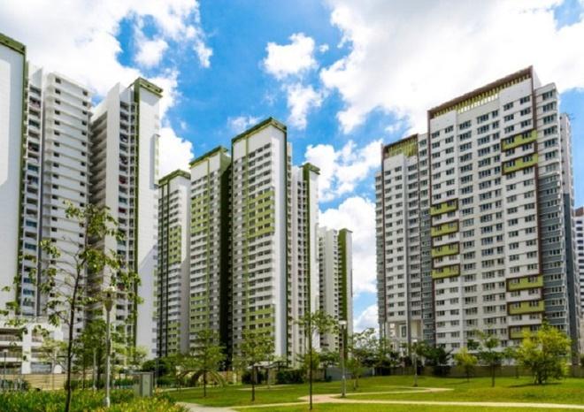 Chính phủ Singapore cấm các công ty xây dựng thiết kể kiểu căn hộ dành cho người độc thân để giải quyết vấn đề tỷ lệ sinh thấp. Ảnh minh họa: Blogspot.com