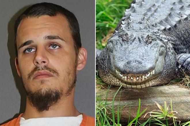 Vao don canh sat vi giet ca sau de che bien mon an hinh anh 1 Richard Nixie giết 5 con cá sấu nhỏ, lấy đuôi chúng làm món ăn nhẹ. Ảnh: Volousia County Corrections