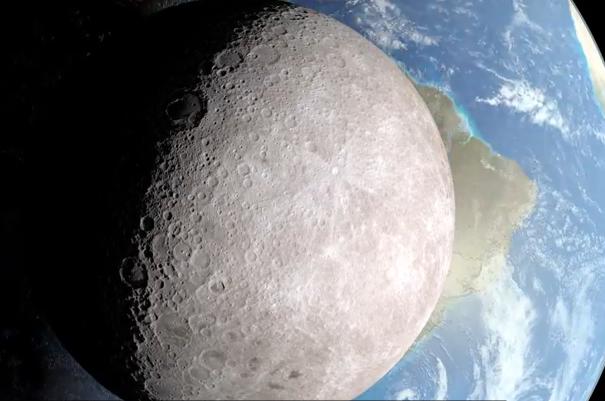 NASA cong bo video ve nua toi vinh cuu cua mat trang hinh anh