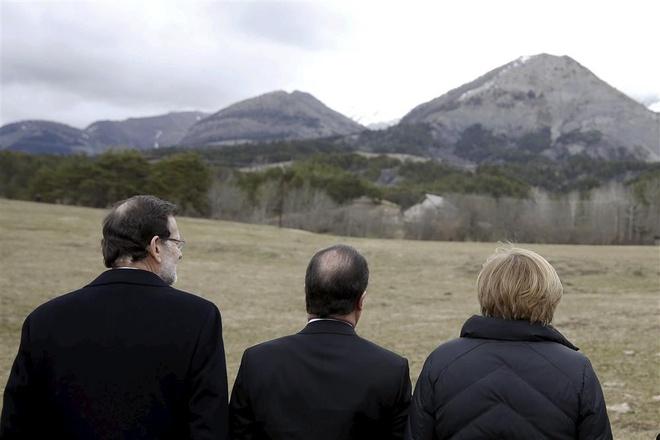 Phi co Duc khong no trong qua trinh roi hinh anh 2 Thủ tướng Tây Ban Nha, Tổng thống Pháp, Thủ tướng Đức