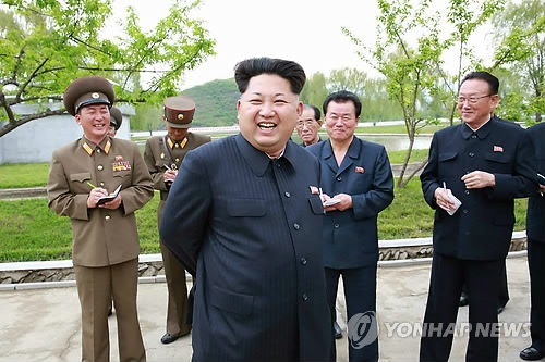 Kim Jong Un tham trai ca, Bo truong Quoc phong khong di cung hinh anh