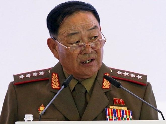 Trieu Tien phan no vi tin don Bo truong Quoc phong chet hinh anh