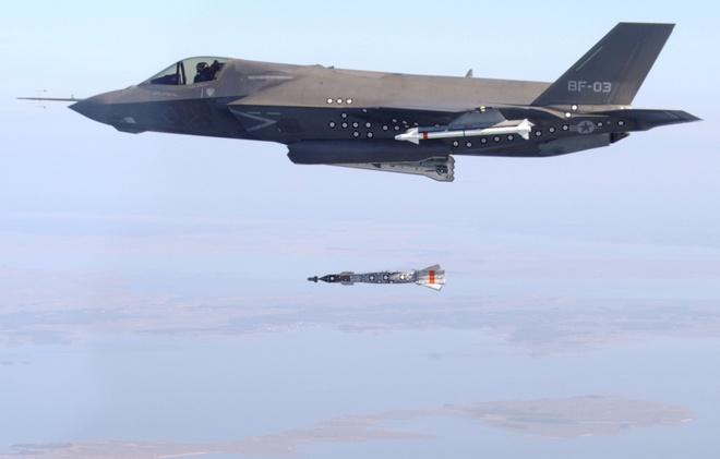 My phat trien sieu bom xuyen boongke cho F-35 hinh anh 1 a