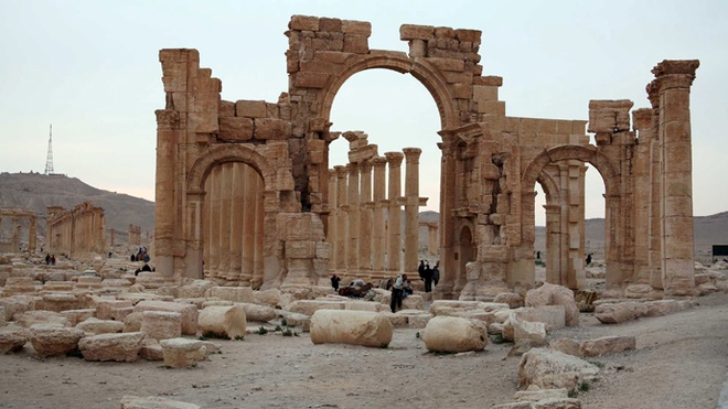 IS giet vai tram nguoi o thanh pho co cua Syria hinh anh