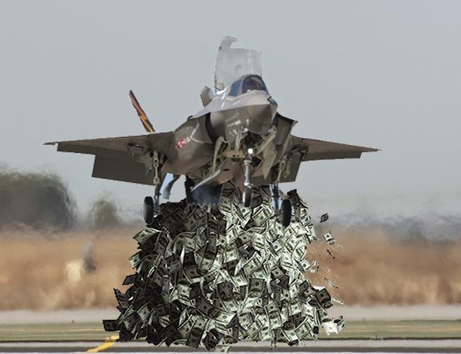 Du an F-35 nghin ty USD, sieu vu khi hay su pha san? hinh anh