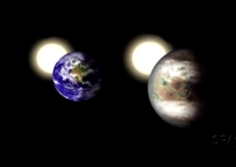 Phat hien hanh tinh giong dia cau nhat tu truoc toi nay hinh anh 2 Hình minh họa trái đất và Kepler