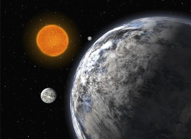 Nen van minh nao co the phat hien trai dat? hinh anh 1 Hình minh họa một hành tinh bên ngoài Thái Dương Hệ. Ảnh: ESA