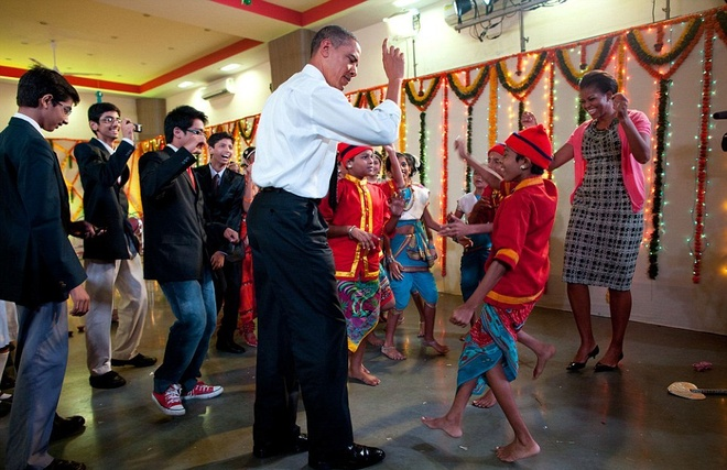Nhung chuyen cong du quanh the gioi cua Tong thong Obama hinh anh