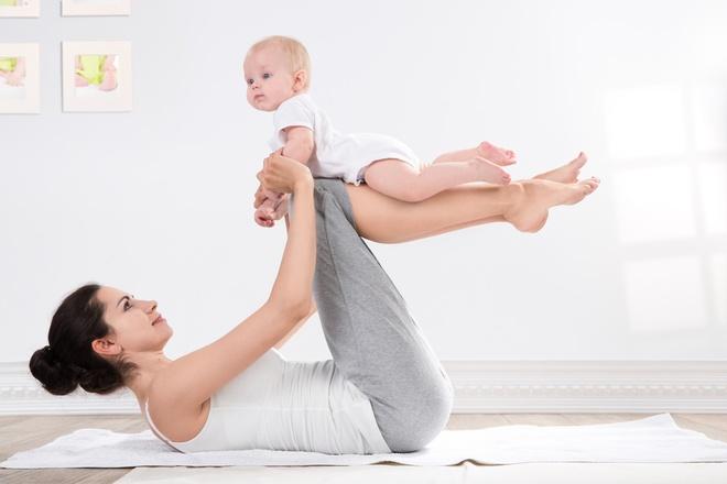 10 bai tap giup lay lai voc dang sau khi sinh nhanh chong hinh anh