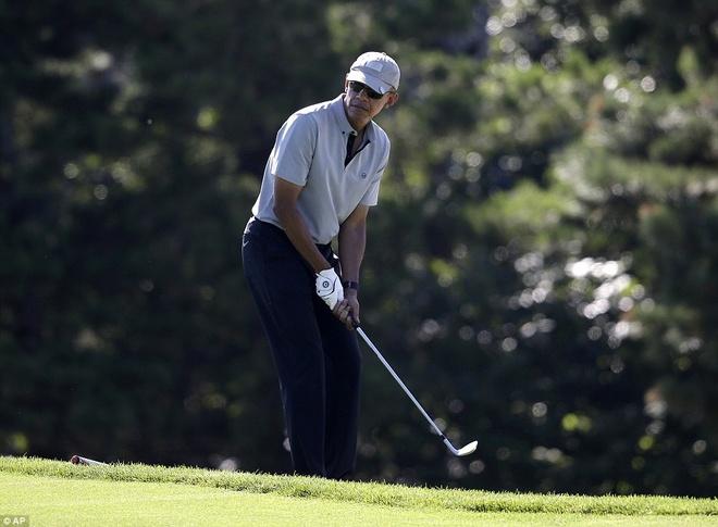 Mot buoi choi golf voi nhung nguoi noi tieng cua Obama hinh anh