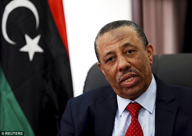 Thu tuong Libya tu chuc dot ngot tren truyen hinh hinh anh
