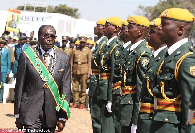 Zimbabwe doi nhung so nguoi trong bao tang o Anh hinh anh