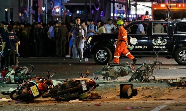 Nhan chung tuong nghe thay tieng sam khi bom no o Bangkok hinh anh