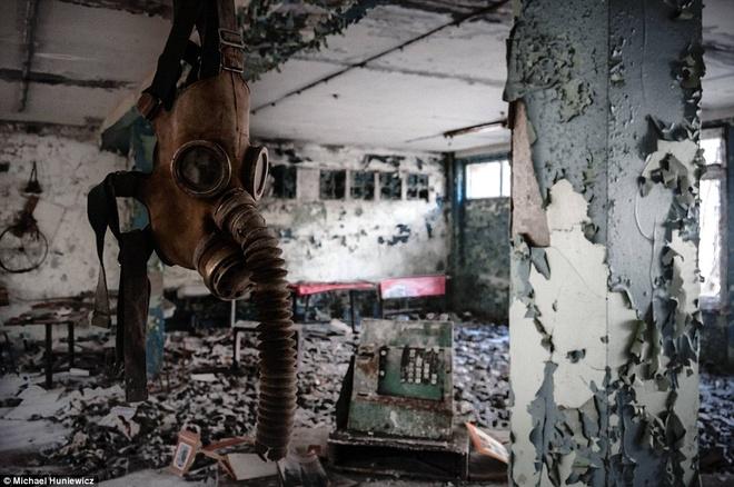 Canh benh vien hoang tan sau gan 30 nam tham hoa Chernobyl hinh anh