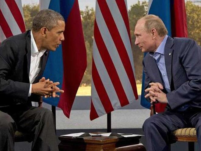 Nga to My khong trung thuc ve cuoc gap giua Putin va Obama hinh anh