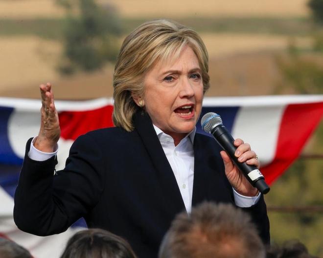 Hillary Clinton phan doi TPP hinh anh 1