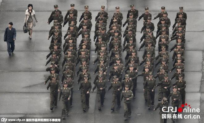 Trieu Tien tap trung binh si cho duyet binh lon nhat lich su hinh anh 1