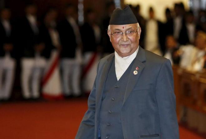 Lanh dao Cong san lam tan thu tuong Nepal hinh anh