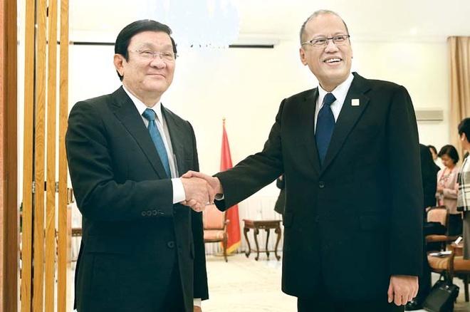 Chu tich nuoc Truong Tan Sang den Philippines du APEC hinh anh 1