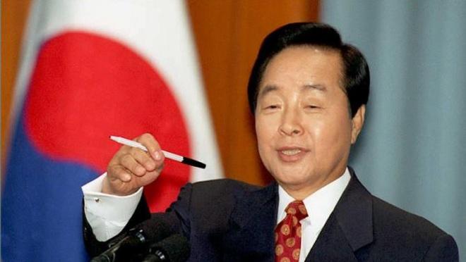 Cuu tong thong Han Quoc Kim Young-sam qua doi hinh anh