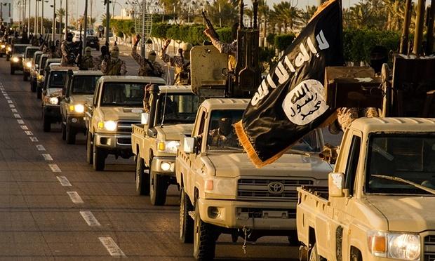 IS xay dung luc luong du phong o Libya hinh anh