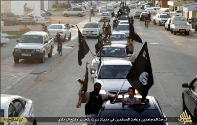 IS xay dung luc luong du phong o Libya hinh anh 2 a