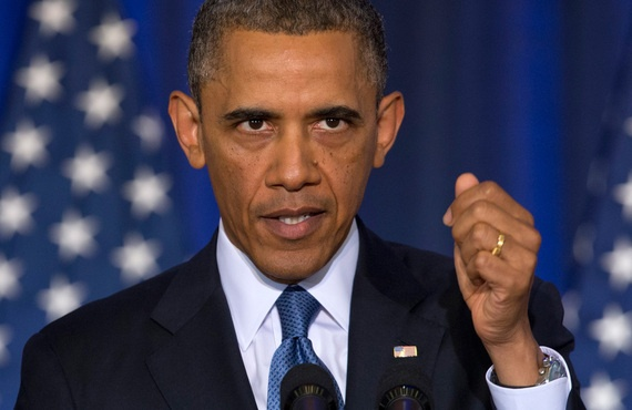 Obama sap co bai phat bieu dac biet ve chong khung bo hinh anh 1