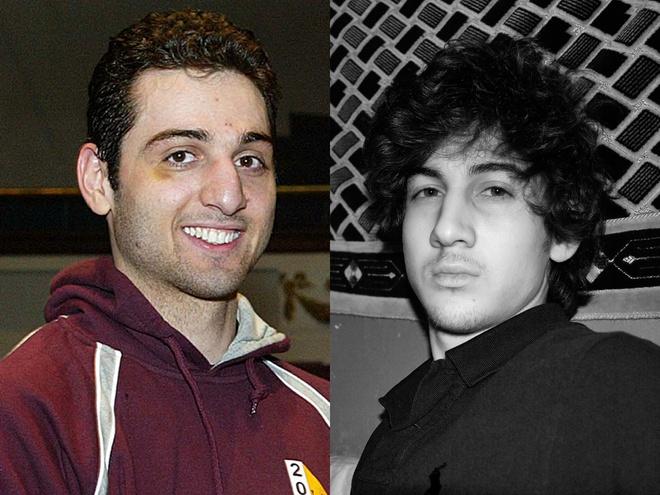 Dam tang lanh leo cua nhung ke khung bo hinh anh 2 Hai anh em Dzhokhar và Tamerlan Tsarnaev là thủ phạm Vụ nổ bom tại cuộc thi chạy marathon ở thành phố Boston, bang Massachusetts (Mỹ)