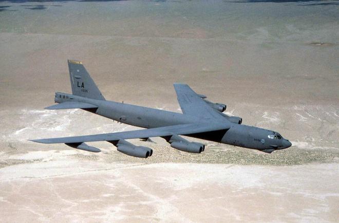 May bay B-52 My ap sat da Chau Vien hinh anh