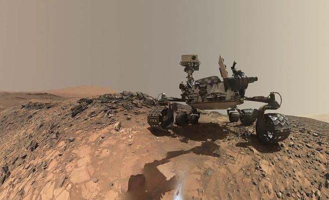Con nguoi co the 'di bo' tren sao Hoa nam 2016 hinh anh 1 Thiết bị tự hành Curiosity trên sao Hỏa. Ảnh: NASA