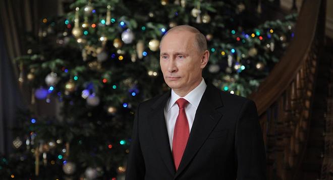 Ong Putin, Ly Hien Long, Aquino chuc mung nam moi 2016 hinh anh