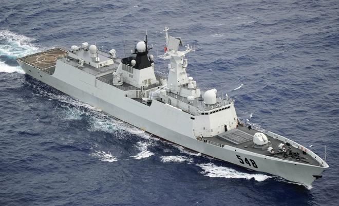 Type 054A, tau ho ve ten lua chu luc trong tham vong cua TQ hinh anh 2