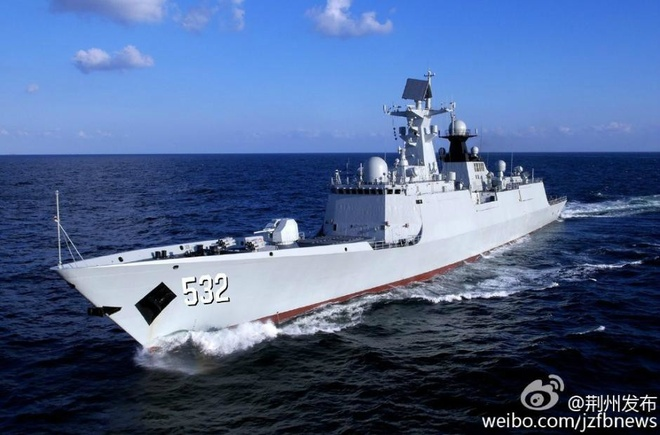 Type 054A, tau ho ve ten lua chu luc trong tham vong cua TQ hinh anh 1