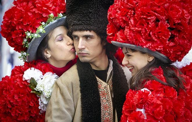 The gioi ron rang don Valentine hinh anh