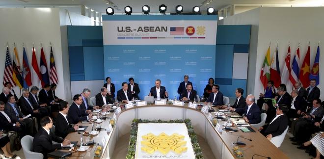 Hoi nghi My - ASEAN ngay 2 tap trung vao van de Bien Dong hinh anh 1