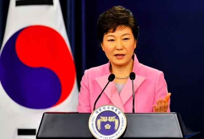 Han Quoc len an Trieu Tien vi cong kich ba Park Geun Hye hinh anh