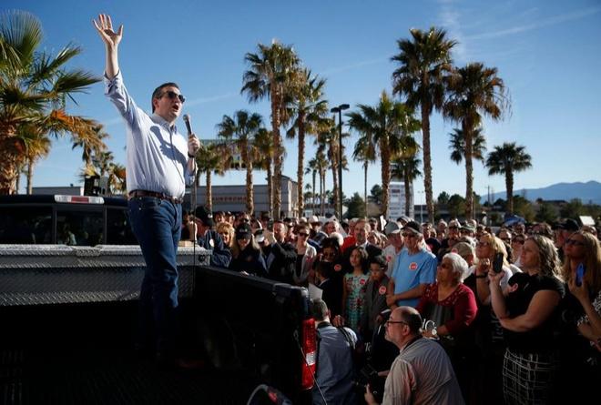 Ong Trump va Cruz rung rinh nhat truoc Sieu thu ba hinh anh 1