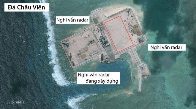 Trung Quoc map mo chuyen lap radar o Truong Sa hinh anh 1