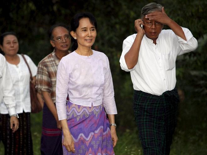 Tro ly cua ba Suu Kyi duoc de cu lam tong thong Myanmar hinh anh 1