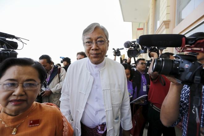 Tro ly cua ba Suu Kyi thanh tong thong Myanmar hinh anh 1