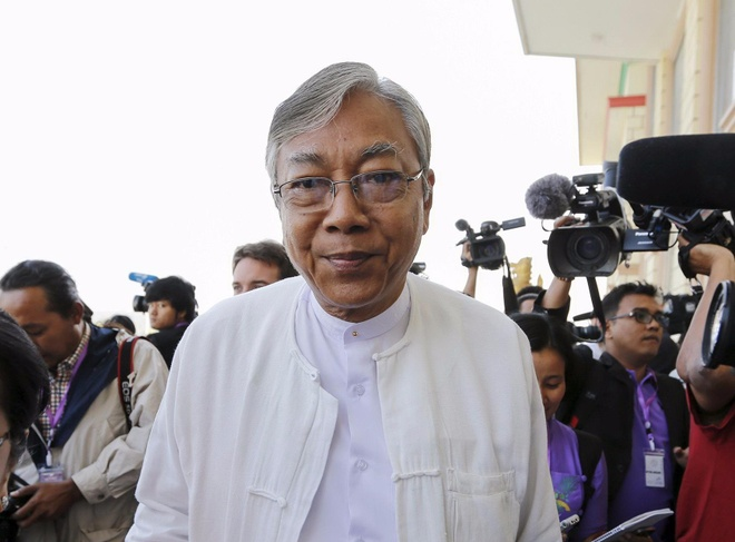 Tro ly cua ba Suu Kyi thanh tong thong Myanmar hinh anh