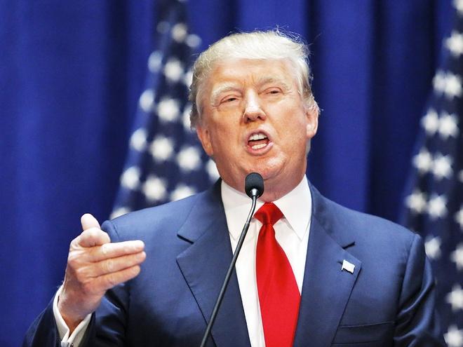Donald Trump cuong ngon de doa quan he My - Nhat hinh anh